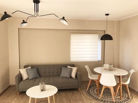 Bright Design Apartment