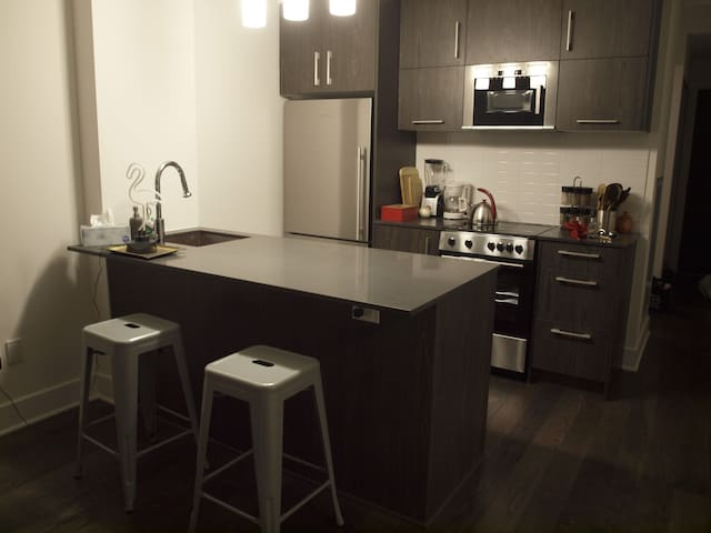 Modern Downtown Condo Steps from Parliament - Ottawa - Apto. en complejo residencial