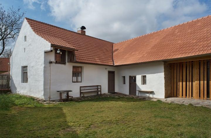 Beautiful south Bohemian cottage