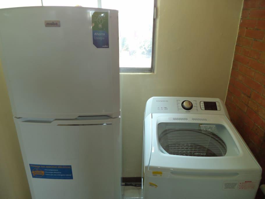 Washing machine and Firdge