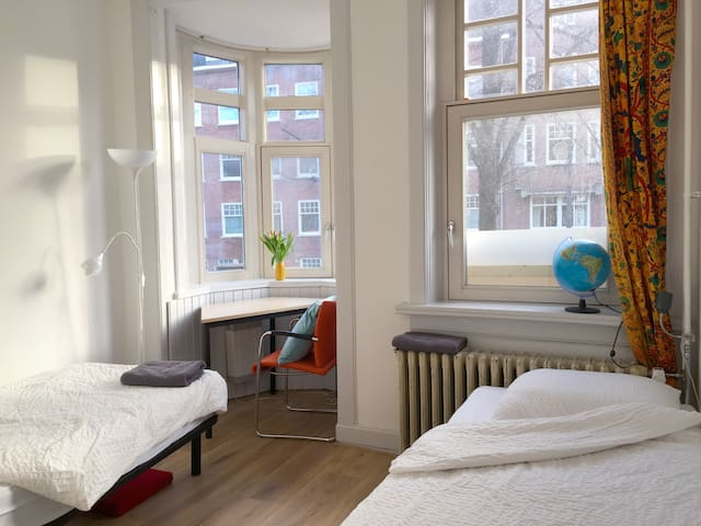 Small bright room Beethovenstraat/WTC/RAI/VAN GOGH