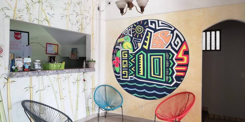 Habitación compartida - Hostal Villa Grande