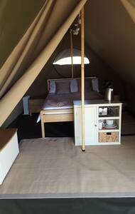Glamping Safari tent in Western Lake District