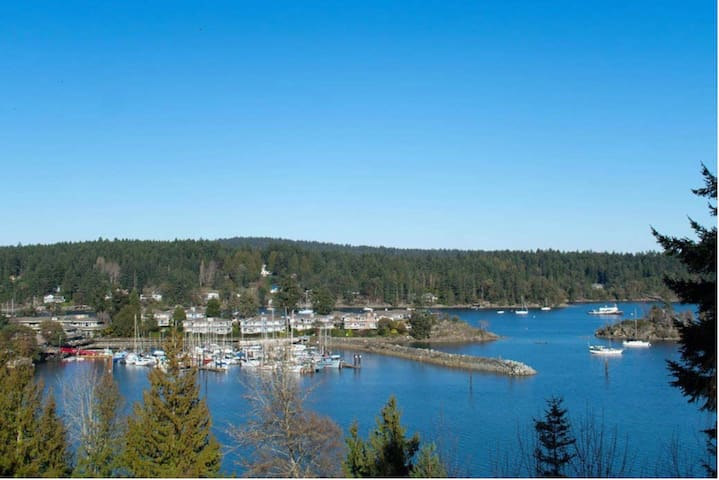 Waterfront Suite for Short Stays on Saltspring ~