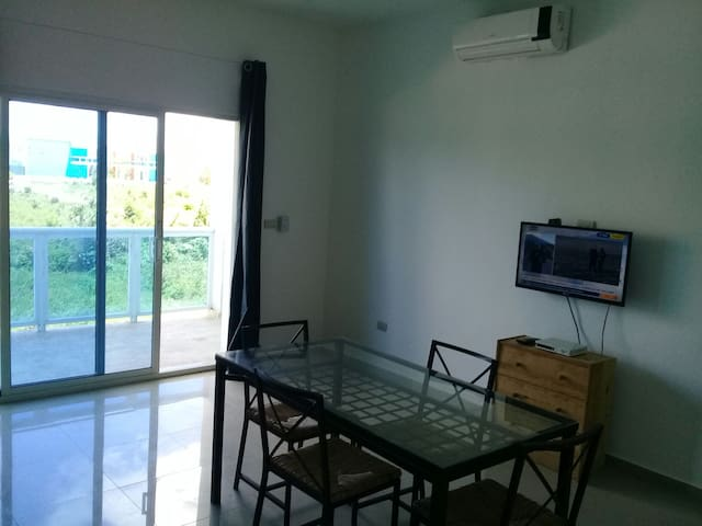 Appartamento di 2 camere (habitaciones) - Boca Chica - Apartemen