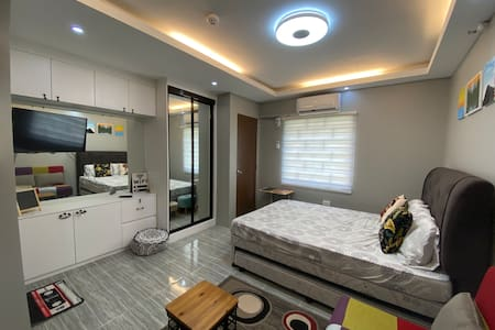IG-worthy studio: light&bright condo, 10m to city