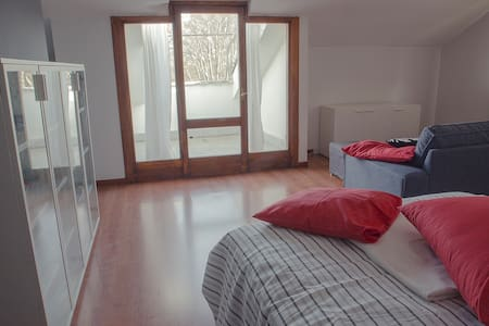 CozyModernCentralAttic & greatView - Rivoli - Appartement