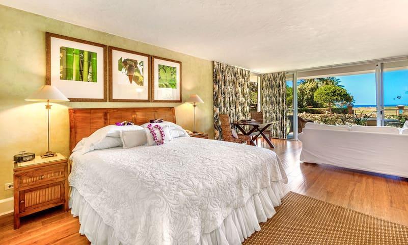 Ocean View Luxury Studio; Beachfront; Snorkeling!