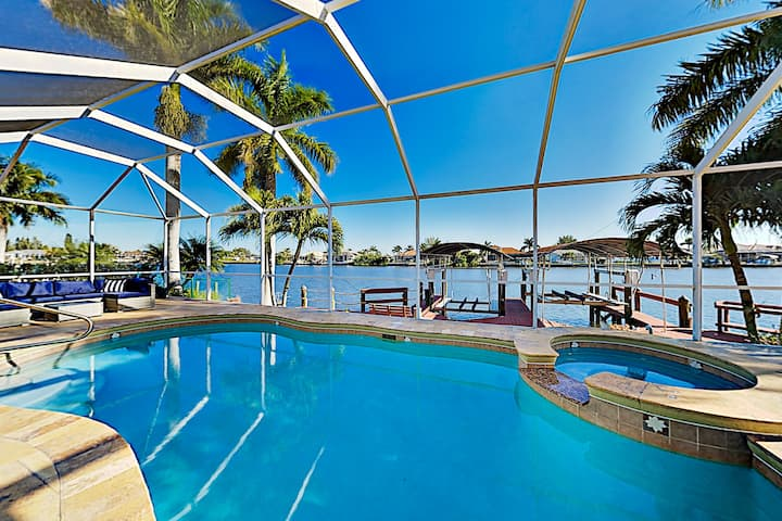 Waterfront Gem | Pool & Boat Dock with Gulf Access