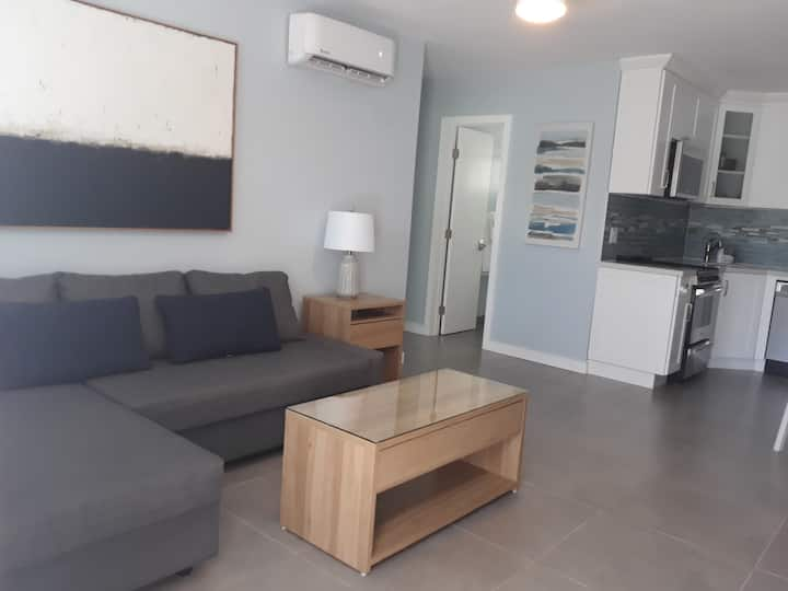 1 Bedroom Apartment a Block from the Beach