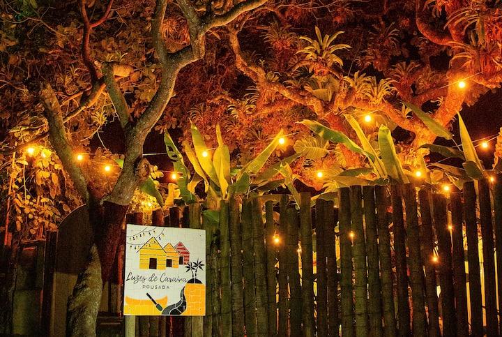 Pousada Luzes de Caraíva- Chalé Lua Cheia
