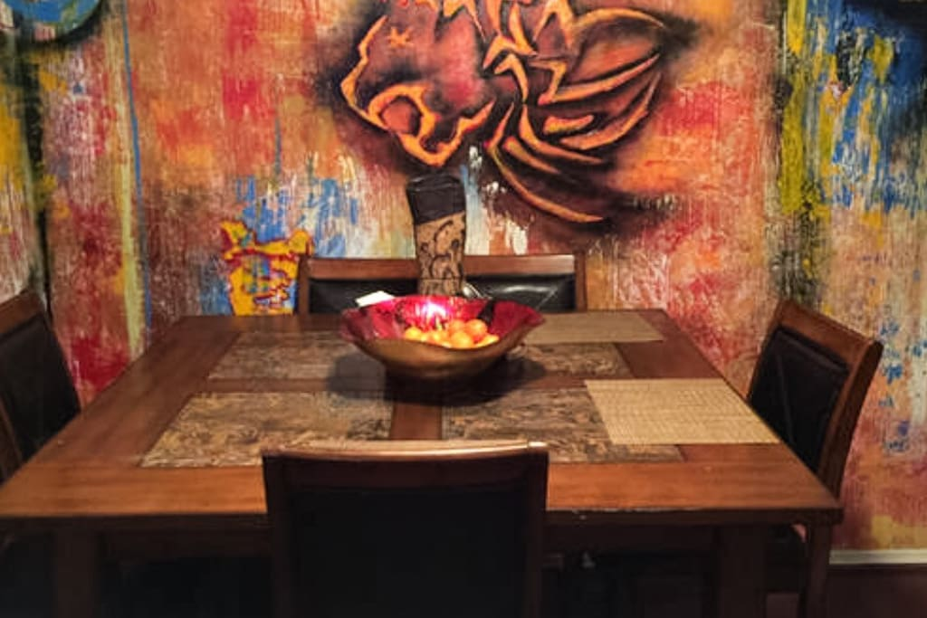 Here is the Dining Room of the Lion's Den