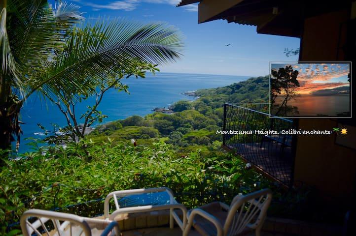 Montezuma heights, Colibri cabin - Moctezuma - Casa de campo