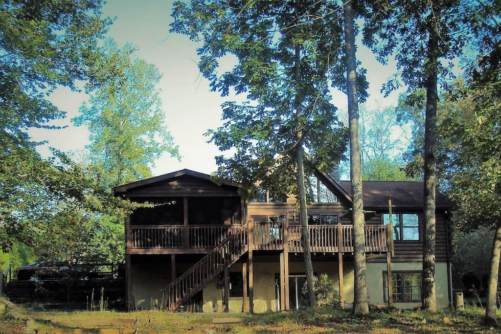 cabin back