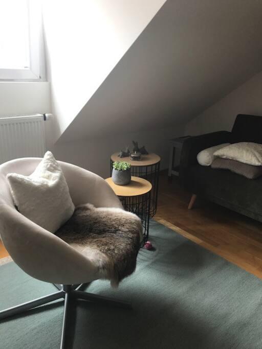 Schöner Raum zum Verweilen - nice room to stay.