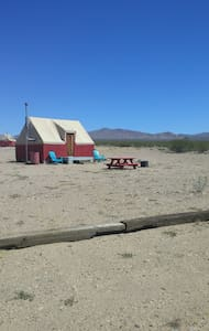 Quatro Eco-Lodge in Nipton, CA - San Bernardino County - Cabin