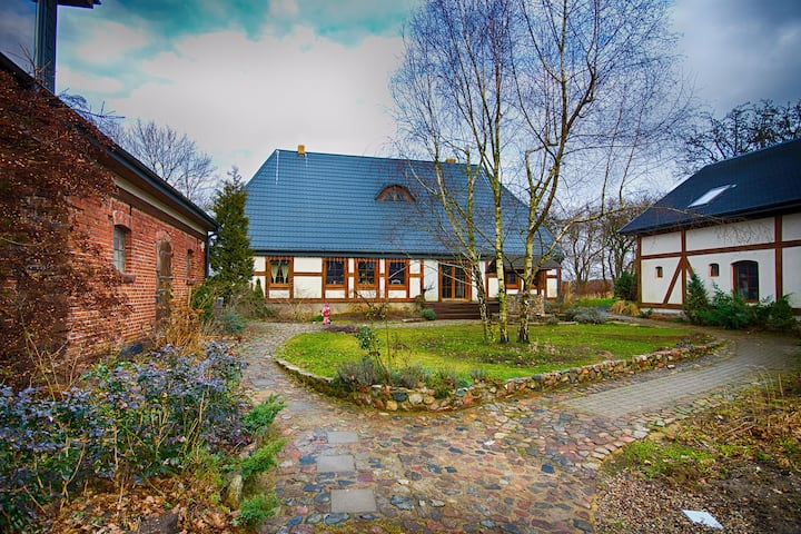Beautiful Cottage in Dzierzecin Baltic Coast with Garden