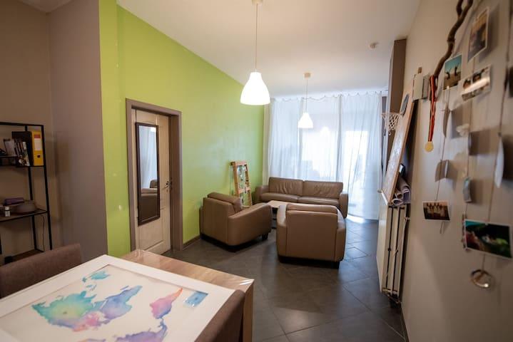 Appartement loft  centre historique de Tournai