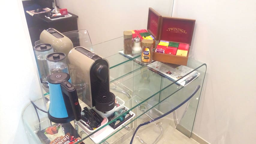 coffee and tea included