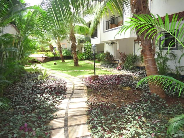 Lovers Bay-Serene and Premium 1bhk in North Goa - Siolim - Apartamento