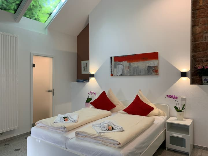 Hotel B54 Heidelberg - Doppelbett Aptm