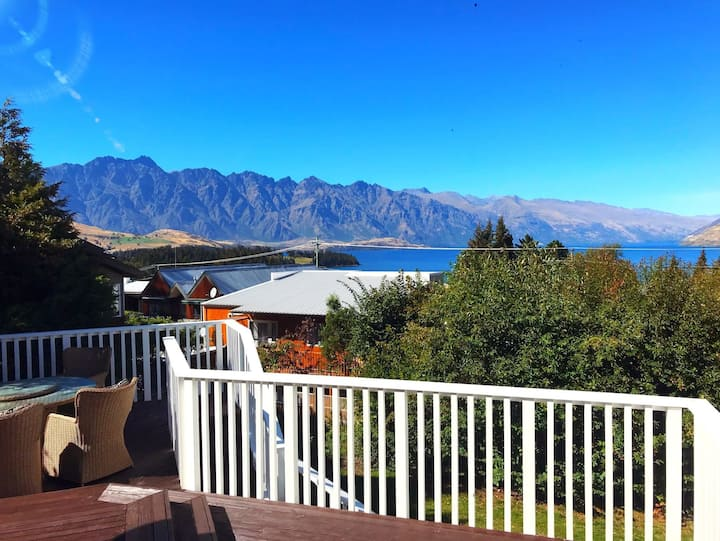 Fabulous views, walk to town and fully renovated