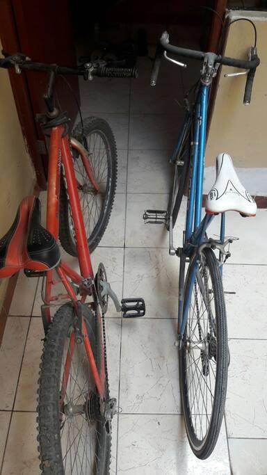 biclicletas disponibles en prestamo
