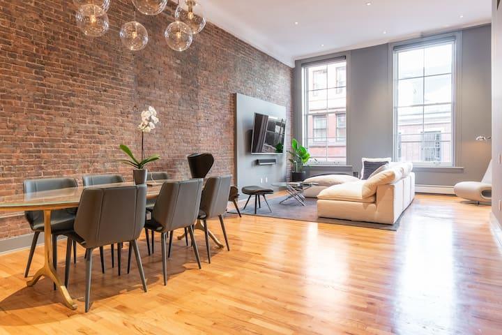 Designer $10M Luxury Home in Prime SoHo !