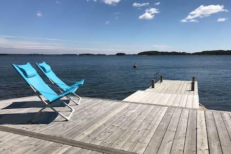 Seafront archipelago villa near Stockholm City