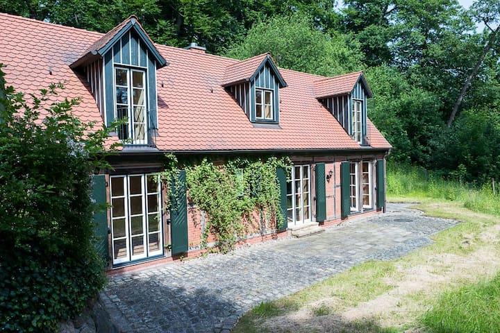 Süd Seite vom Cottage