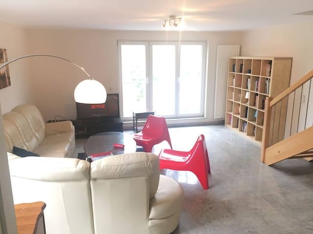 Private Massive room in penthouse apartment - Luxemburg - Appartement