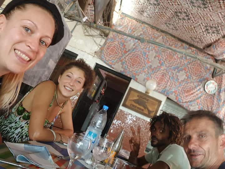 à 2 munites de la plage !!! Saly. Sénégal teranga