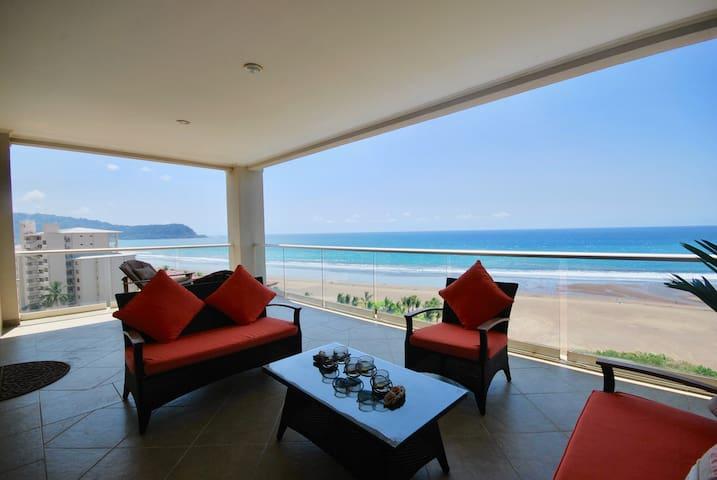 Best Views in Jaco - Luxury Beachfront Condo