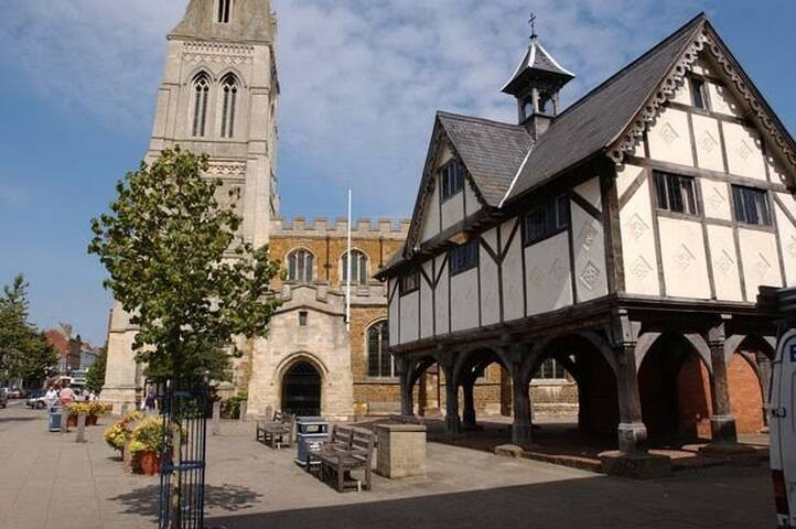 The church & Old Grammar School