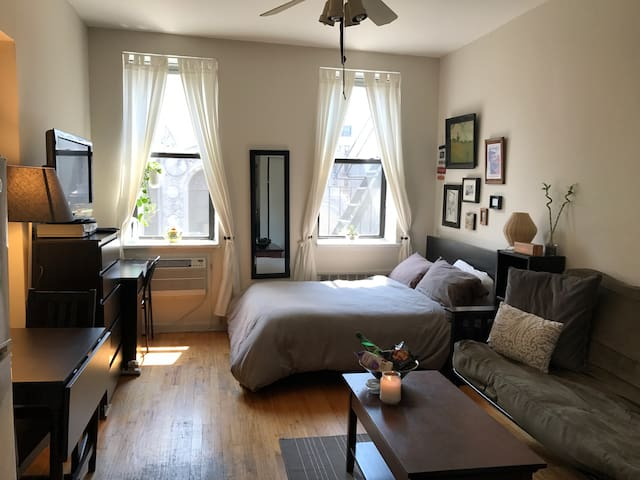 Charming East Village Studio