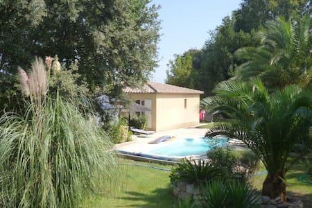 villa individuelle avec piscine - La Motte - 別荘