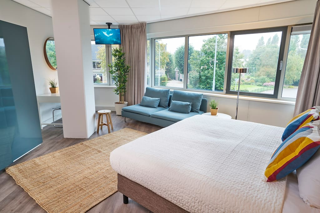 40 m2 Studio living room