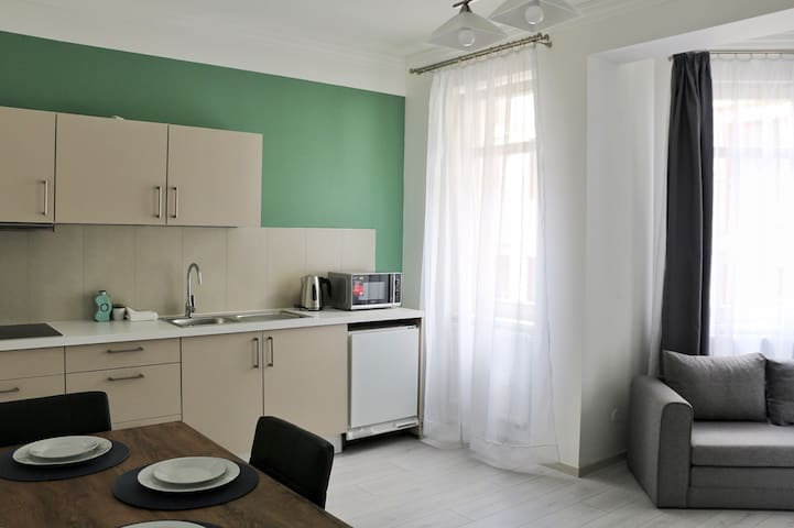 M#24/5 Cozy apartment in CityCenter & Free parking