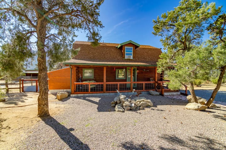 Back To Nature, Away From The City, in Pinon Pines