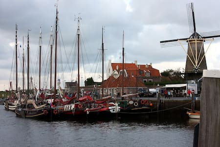 ROOM AT THE HARBOUR-HAVEN-HAFEN - Zierikzee - Bed & Breakfast
