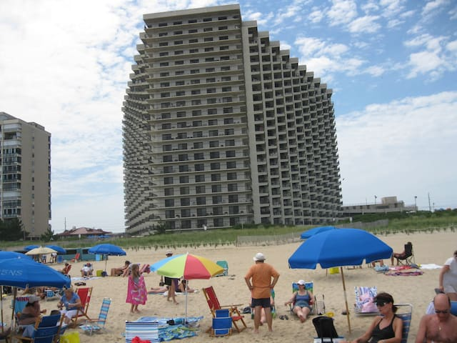 Sea Watch oceanfront, for family or large groups - Ocean City - Appartement