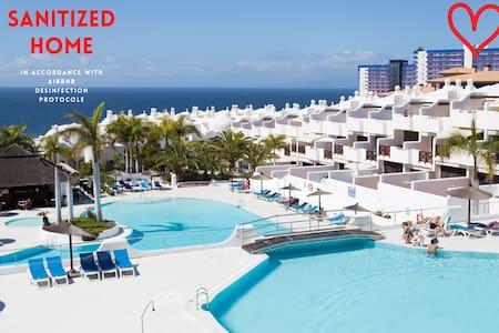 Superb Ocean View 3BD: 50sqm terrace&heated pool