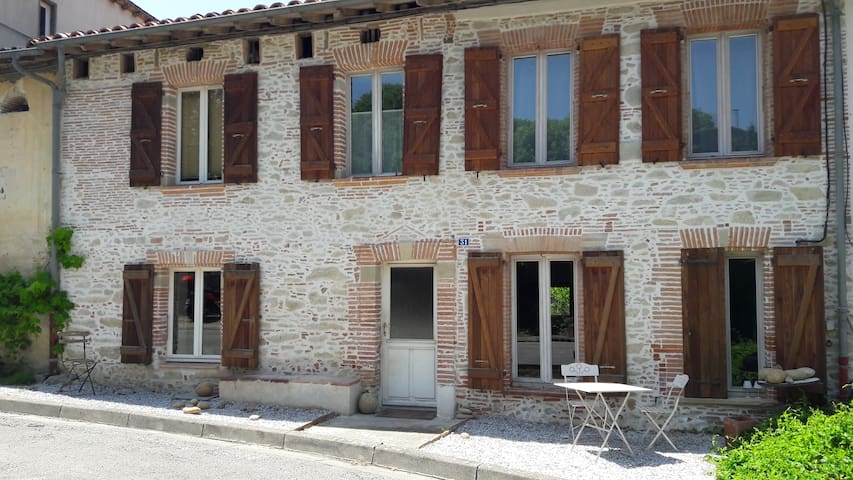 Maison en pierre - Loubens-Lauragais - Huis