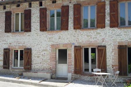 Maison en pierre - Loubens-Lauragais - Haus
