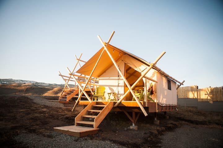 Boutique Wall Tents near Yellowstone Park