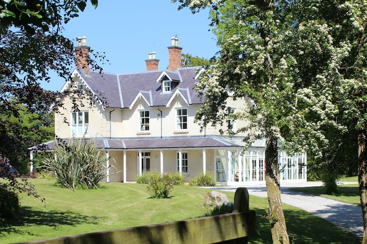 Carn Lodge- Peace and Tranquility- Country House - Ramelton - Casa