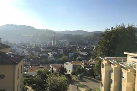 Studio with stunning view - Sankt Gallen - Apartament