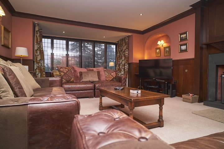Ladstock Hall, Thornthwaite, ideal for 2 or 3 families or groups with easy access to Keswick.