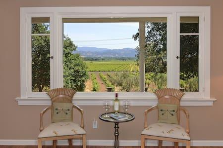 Trentadue Estate View-Vineyard View - Geyserville - Hus