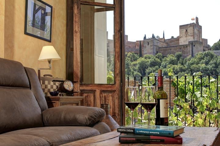 """CASA Albaicín vistas Alhambra. """"PARKING GRATUITO"""""""
